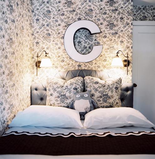 jesienne łóżko
